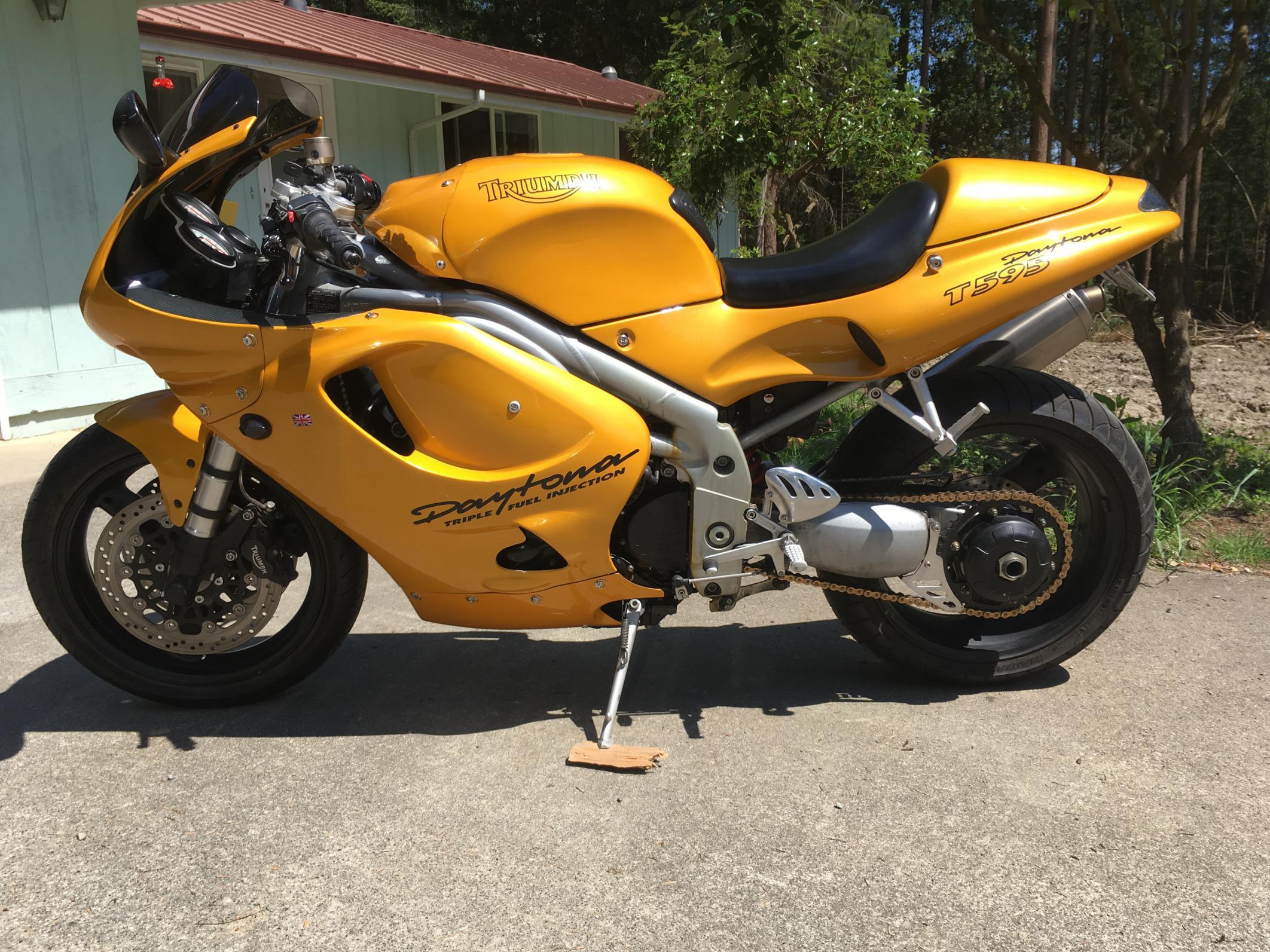 T595 rider in the Seattle area - Triumph Forum: Triumph ...