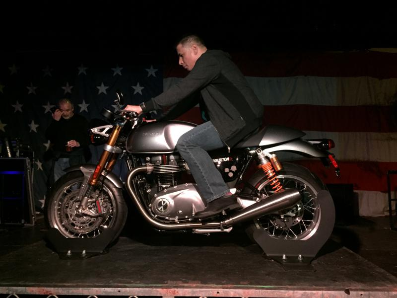 New 2016 Thruxton R Page 33 Triumph Forum Rat Motorcycle Forums