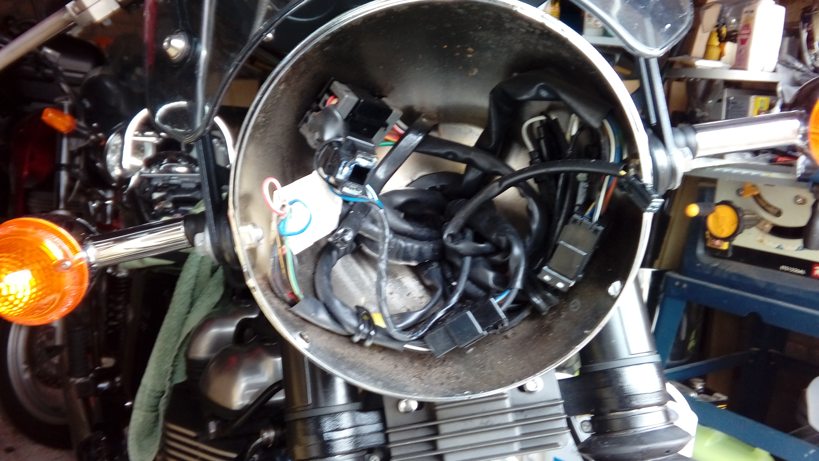 New T100 Bonnie Fluctuating Speedo Triumph Forum