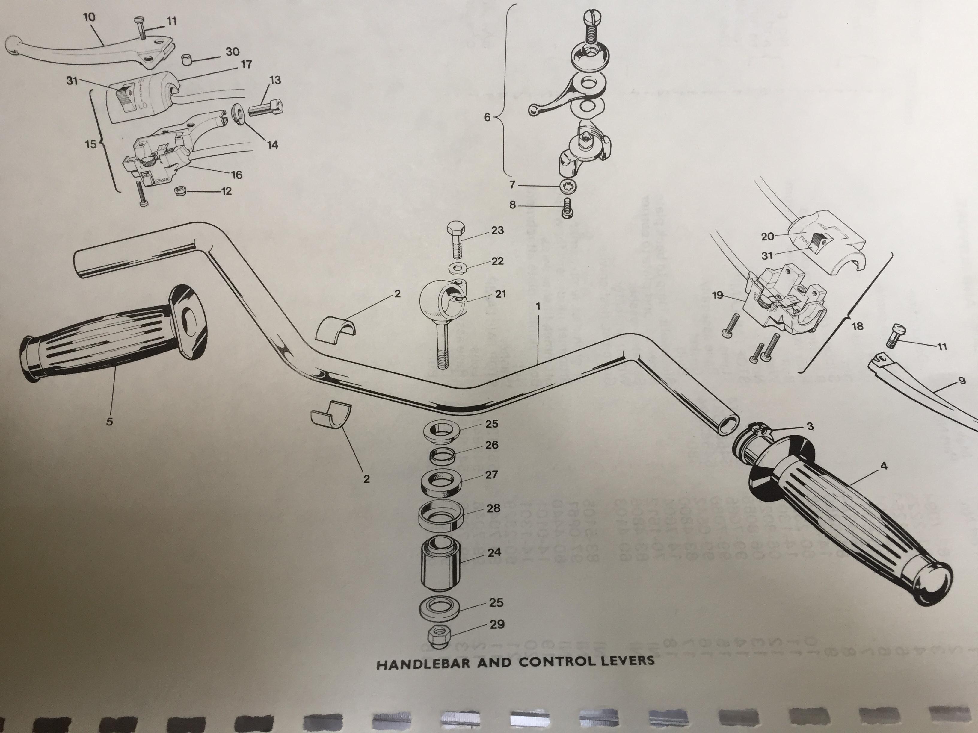 1976 Triumph T140v Wiring Diagram