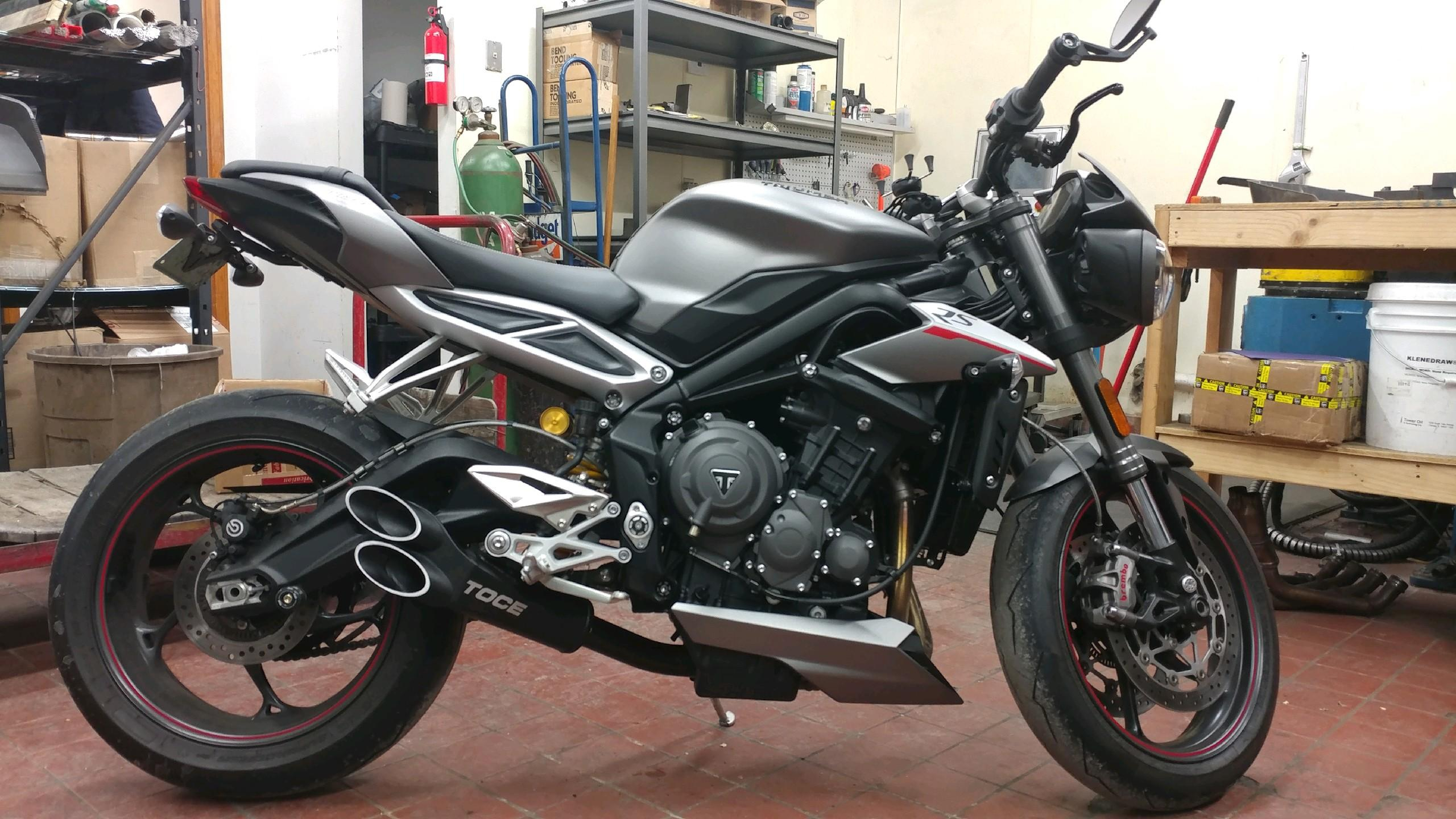 street triple 765 exhaust thread page 29 triumph forum triumph rat motorcycle forums. Black Bedroom Furniture Sets. Home Design Ideas