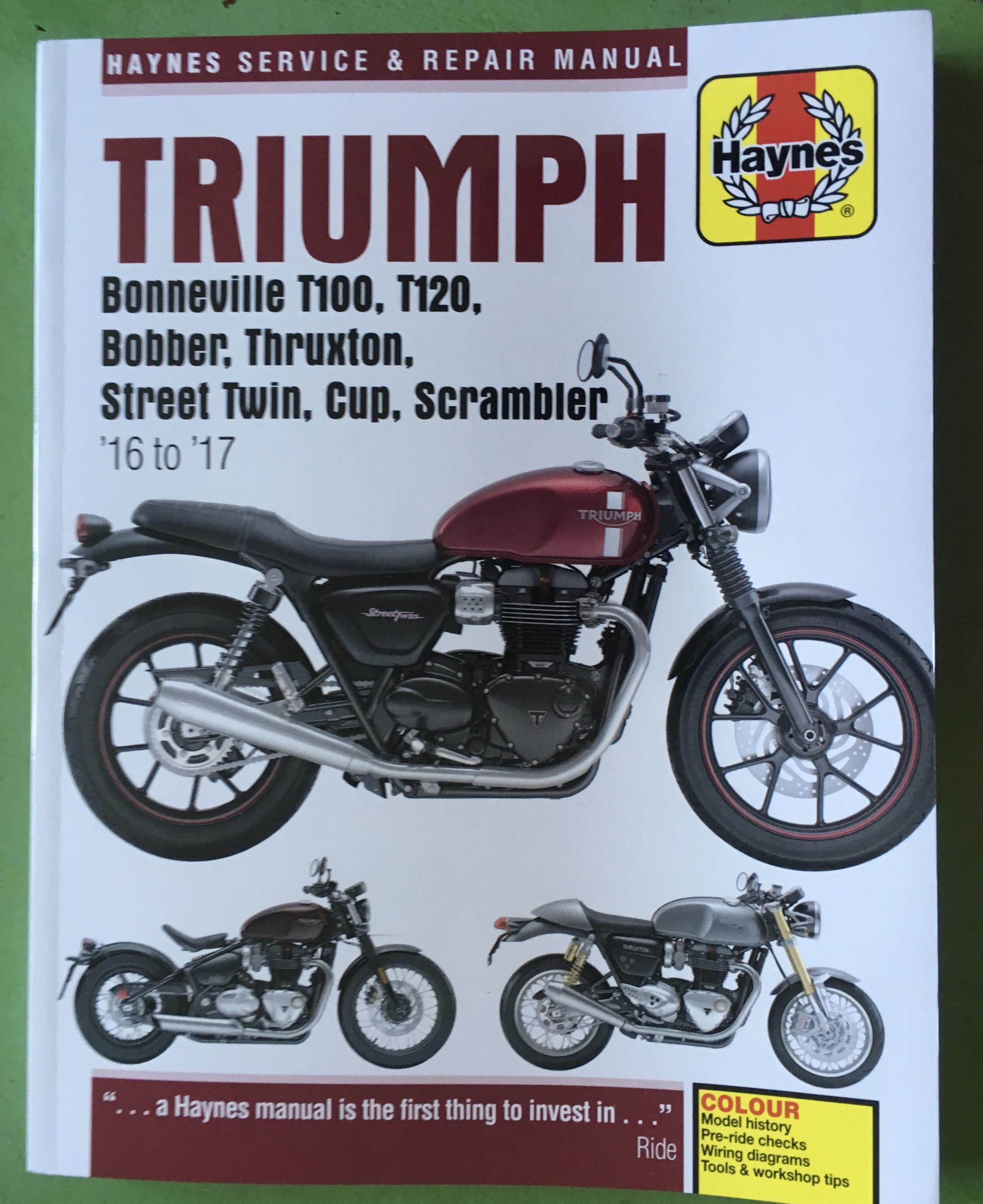 What Did You Do With Your Water Cooled Twin Today Page 2014 Thruxton Wiring Diagram Click Image For Larger Version Name 60b9284c 0879 4d00 B44b 45a40c8bd3aa