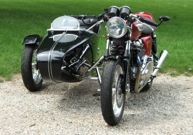 2008 Triumph bonneville urban cruiser sidecar rig Sold and is now ...