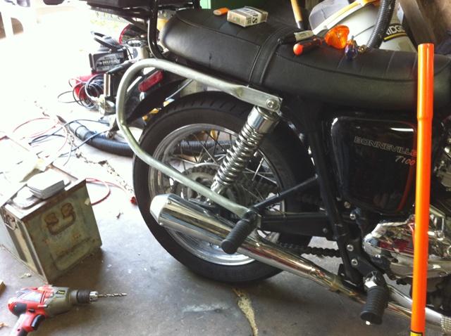Diy Motorcycle Pannier Mounts Do It Your Self