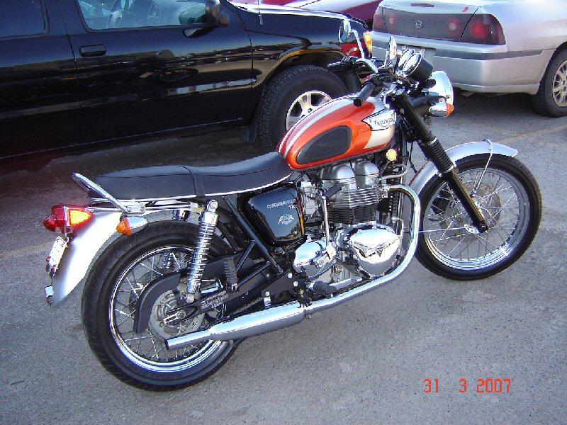 Kick start - Page 5 - Triumph Forum: Triumph Rat Motorcycle