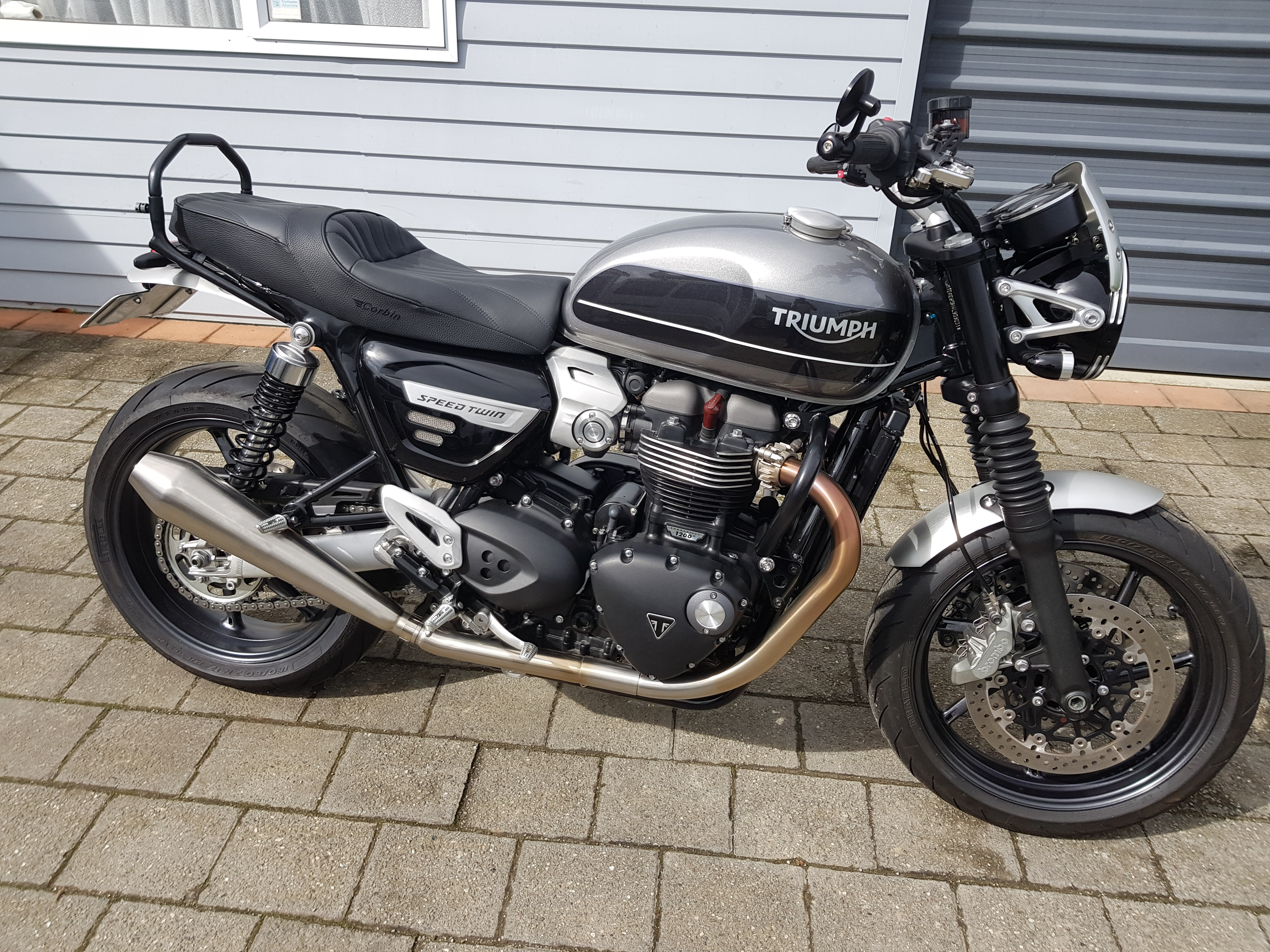 Any Difference 2019 And 2020 Speed Twin Triumph Rat Motorcycle Forums