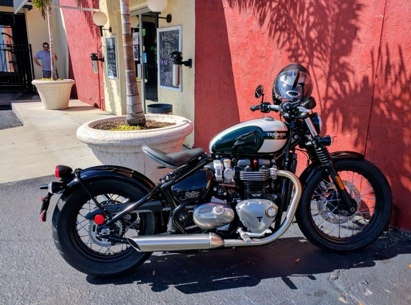 new 2017 bonneville bobber - delivered - triumph forum: triumph