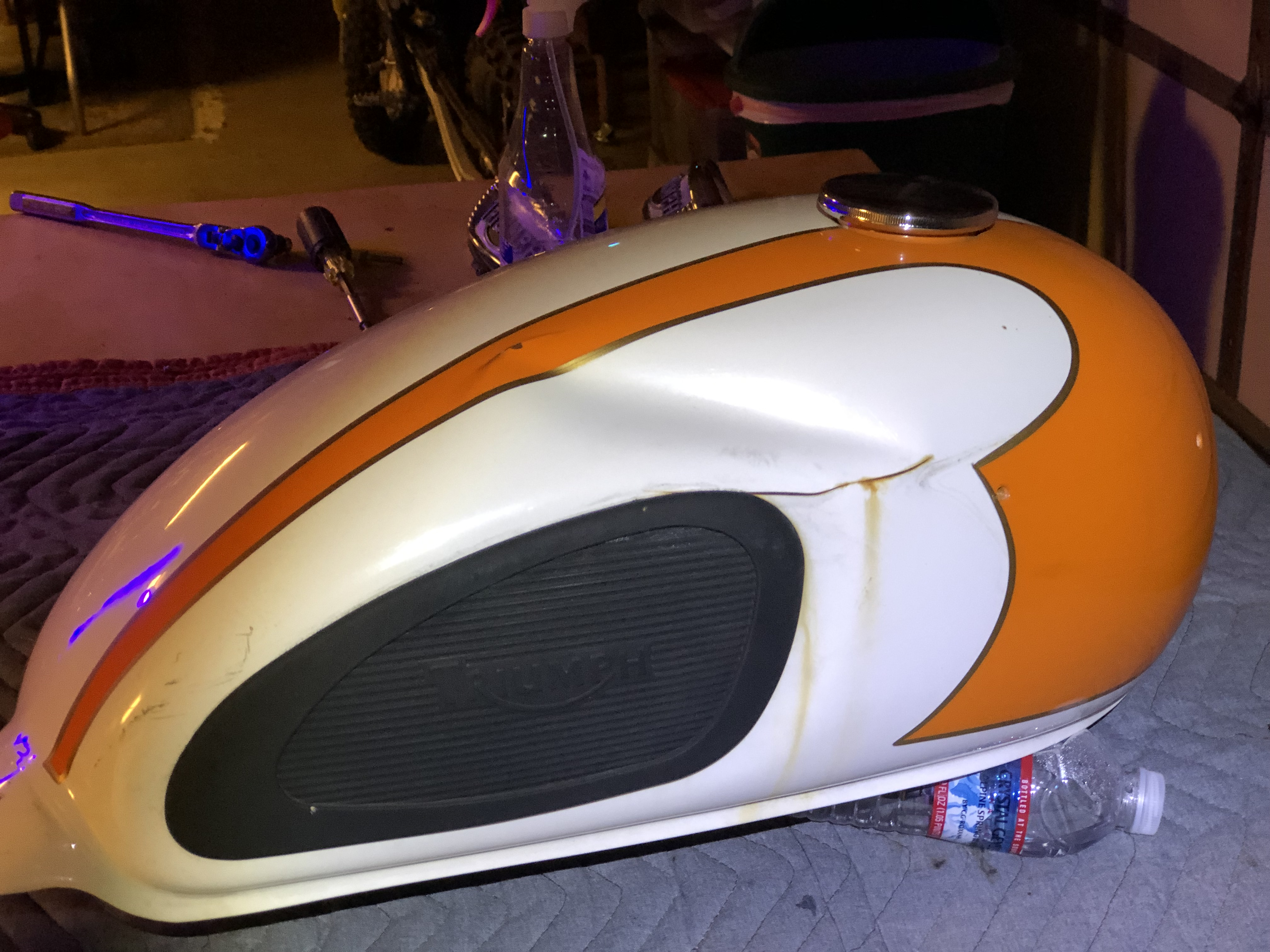 06 T-100 Tangerine Non-Op Project-dinged-tank.jpg