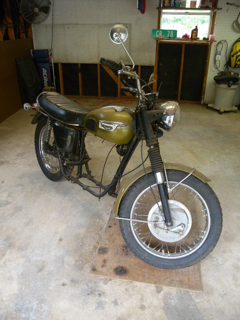 1970 Triumph TR6R Project