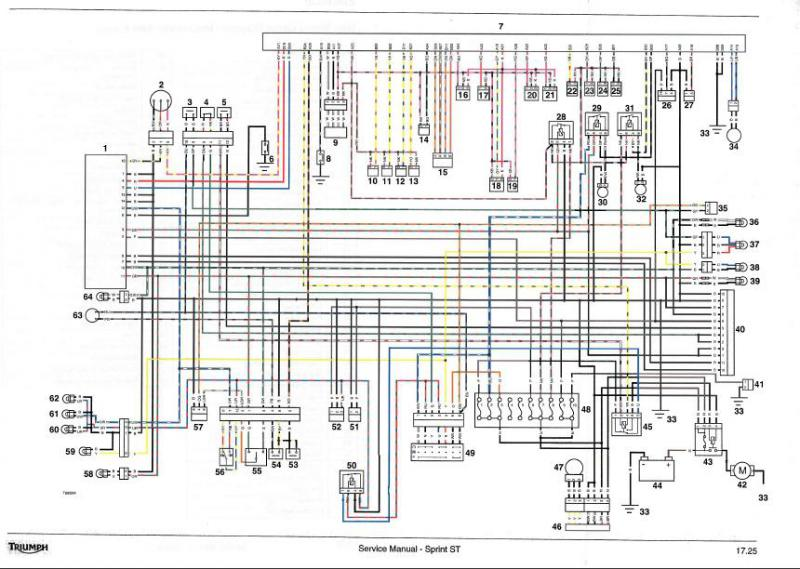 Zsa Triumph Sprint St Wiring Diagram Rar Download