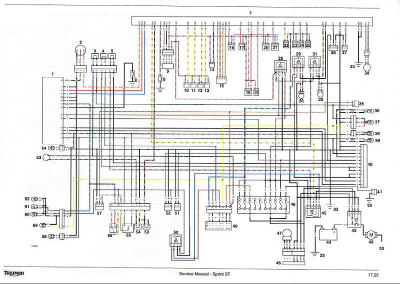 Sprint 1050 back light wiring - Triumph Forum: Triumph Rat ...