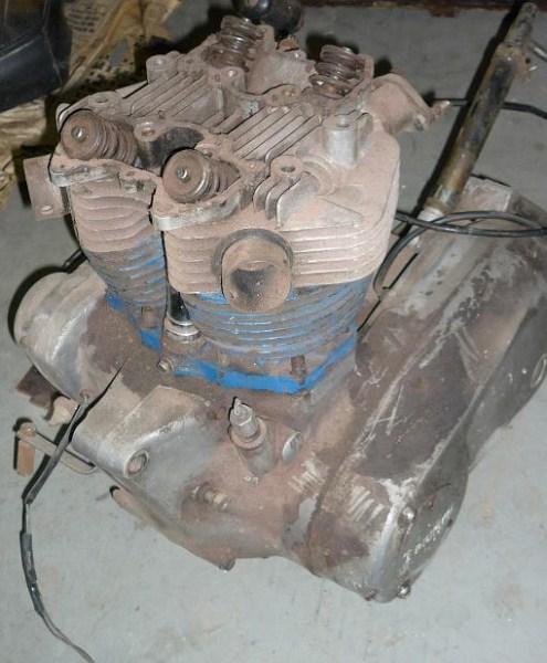 '71 T120R Rebuild-engine.jpg