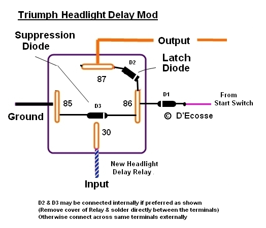 Motorcycle Headlight Relay Wiring Diagram: Motorcycle Headlight Relay   Nilza net,