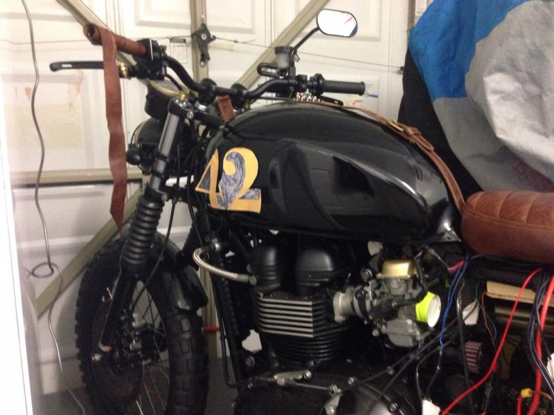 Scrambler Street Tracker Build