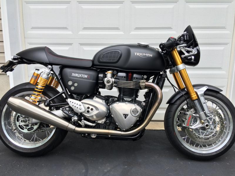 show your thruxton r standard 1200 mods so far triumph forum triumph rat motorcycle forums. Black Bedroom Furniture Sets. Home Design Ideas