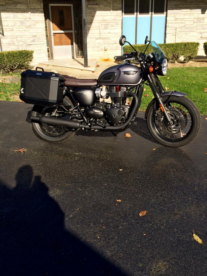 T120 Luggage Saddlebags Thread Triumph Forum Triumph