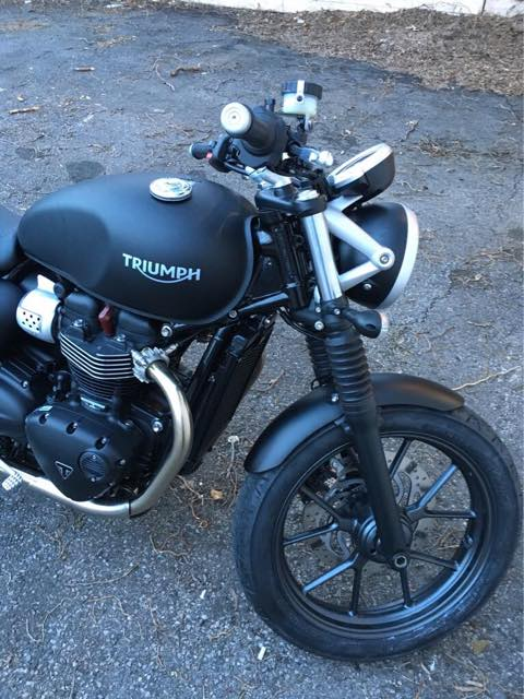 removing fork gaiters on street twin - page 3 - triumph forum