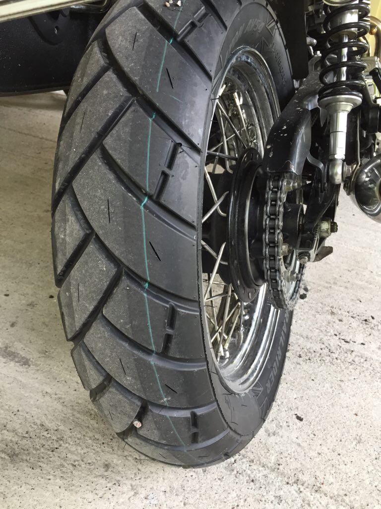 Avon Motorcycle Tires >> Scrambler tires and sizes - Page 3 - Triumph Forum ...