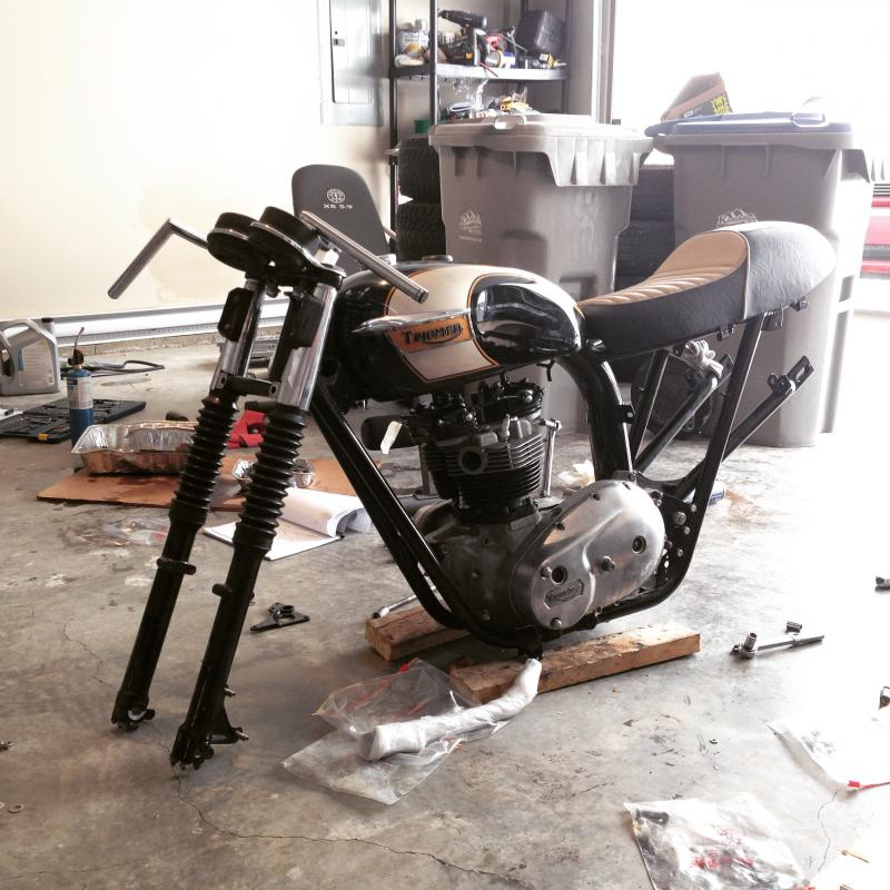 How to: no battery with magneto - Triumph Forum: Triumph Rat ...