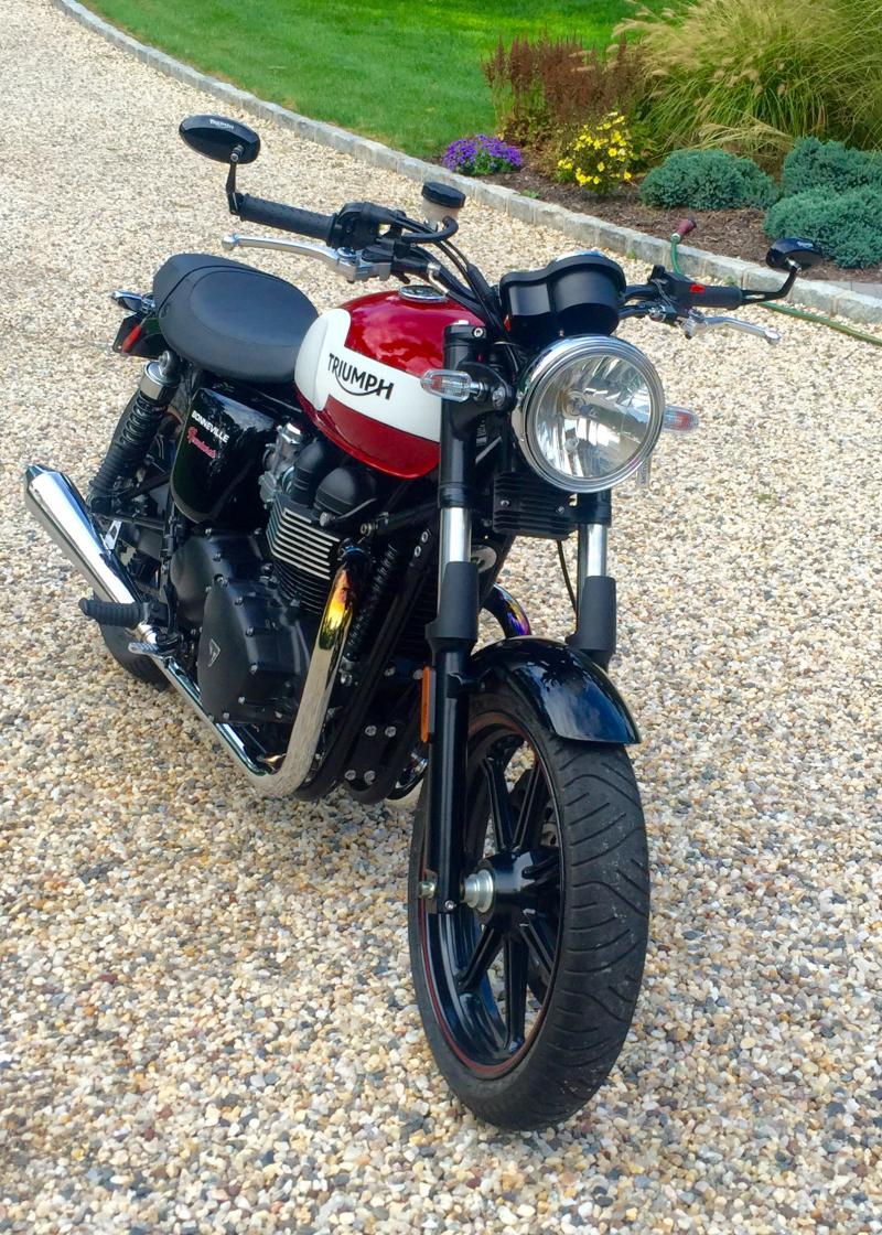 removing fork gaiters on street twin - page 2 - triumph forum