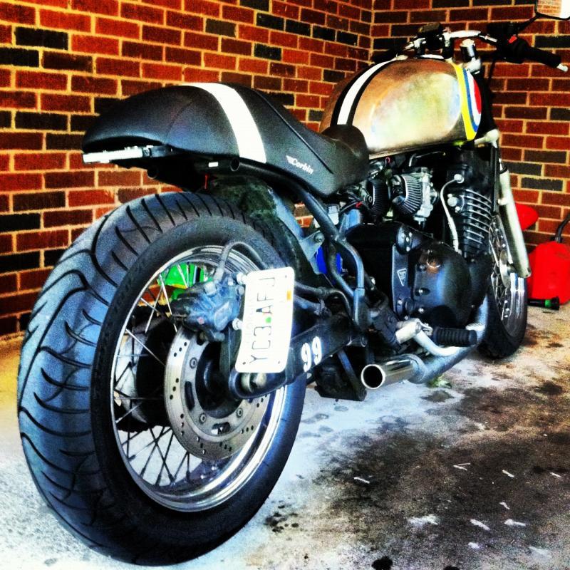 legend tt 900 so far   triumph forum triumph rat motorcycle forums