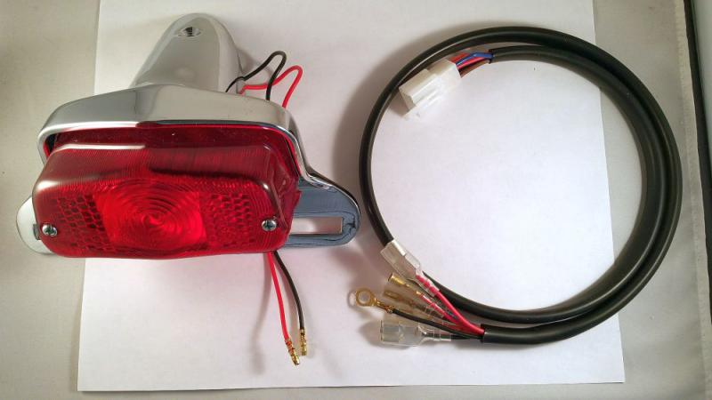 new bonneville lucas taillight wiring harness questions click image for larger version nb taillight and wiring harness jpg views