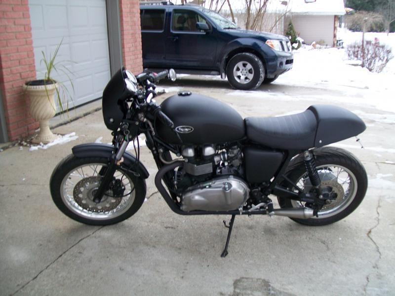 I Plasti Dipped My Thrux Triumph Rat Motorcycle Forums