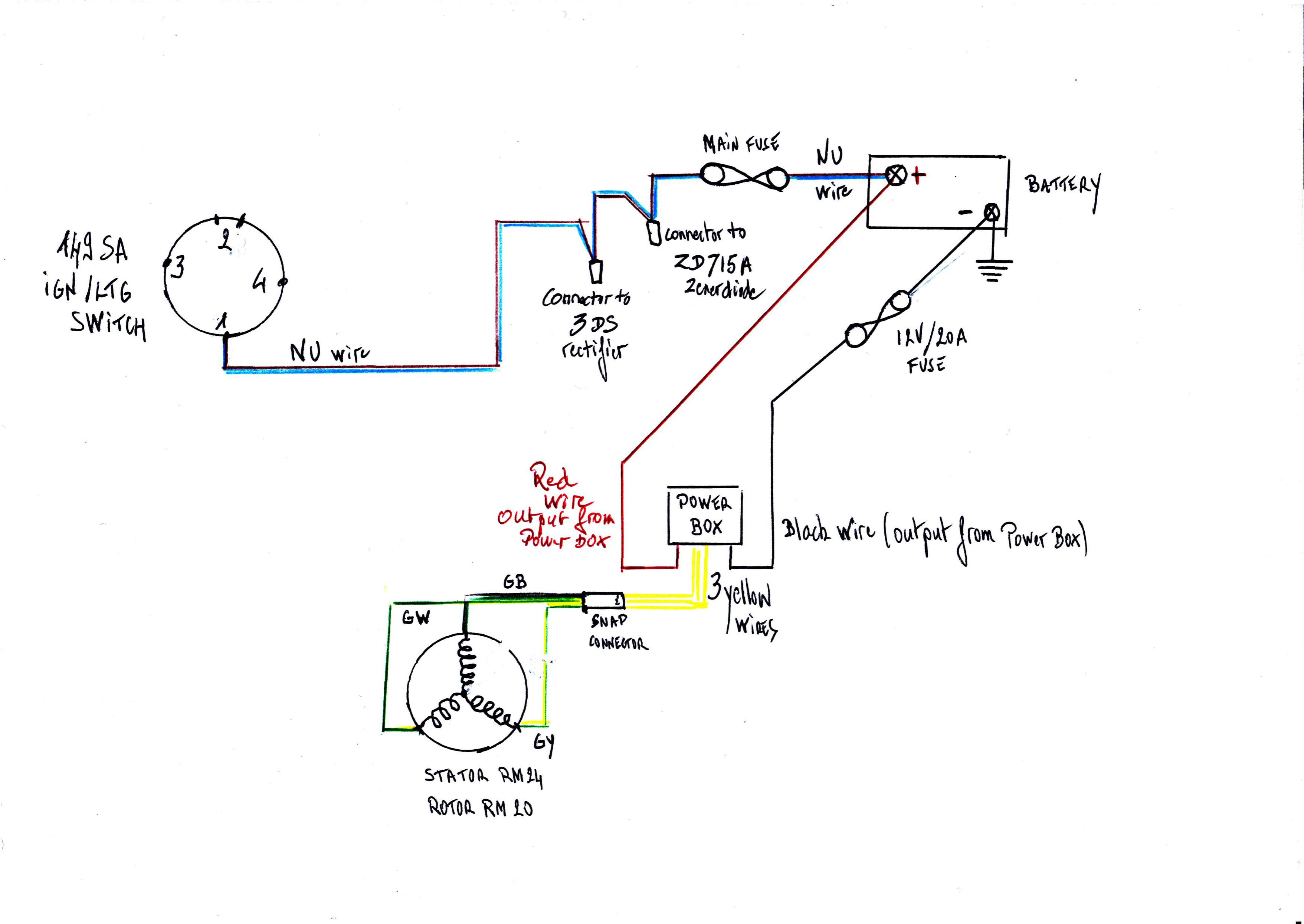 Wiring A Power Box On A T140e  Help Please