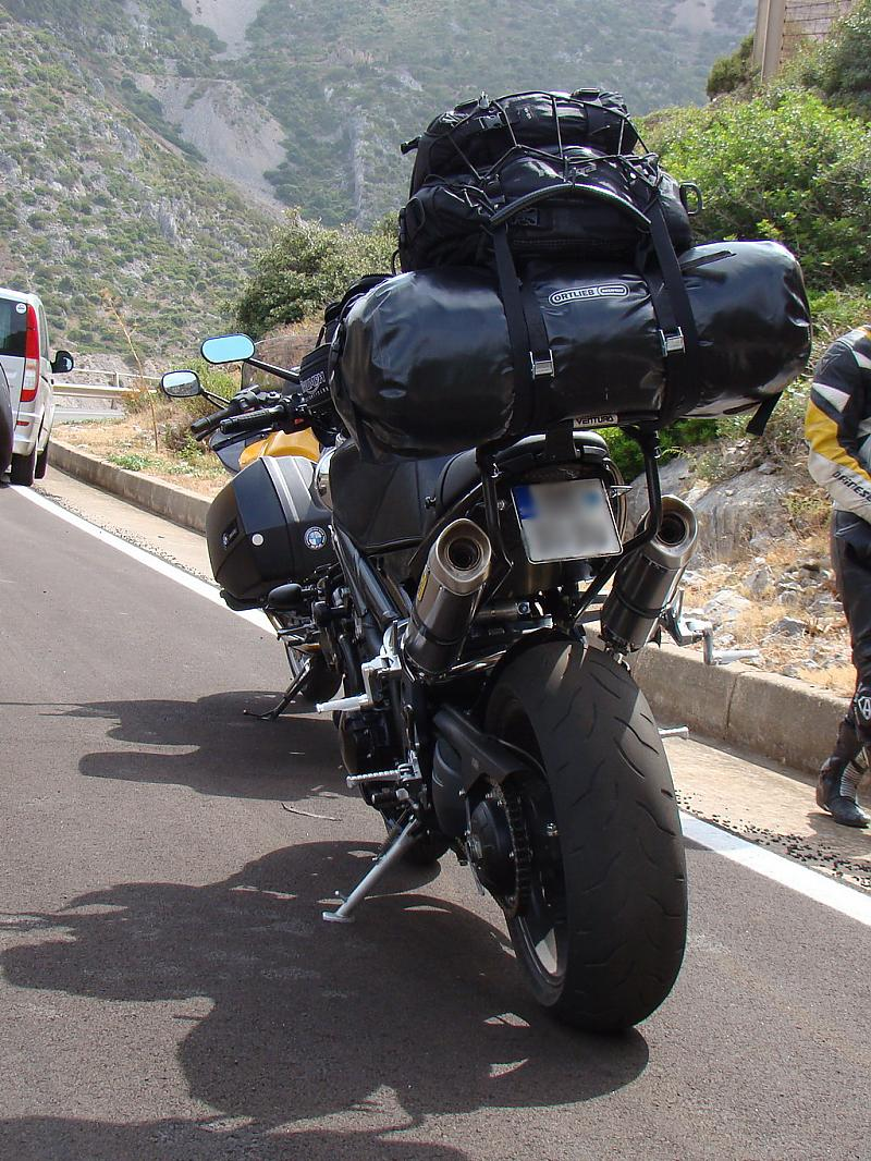touring with a passenger, bag options? - page 2 - triumph forum