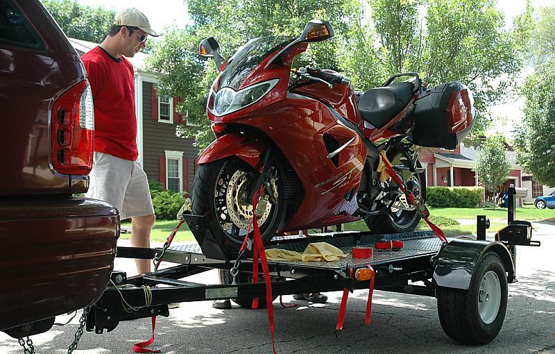 Trailering A Sprint 955 Tie Down Question Triumph Forum Rat Motorcycle Forums