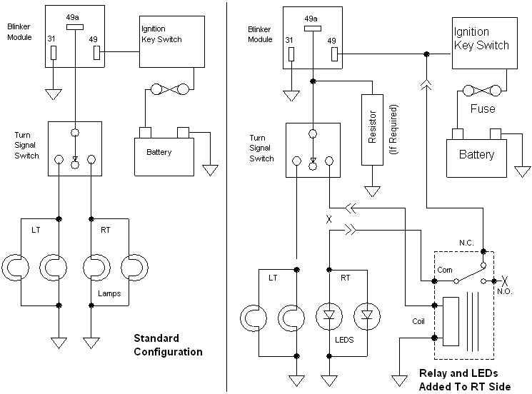 simple turn signal schematic ke turn signal wiring diagram schematic e3 wiring diagram  ke turn signal wiring diagram schematic