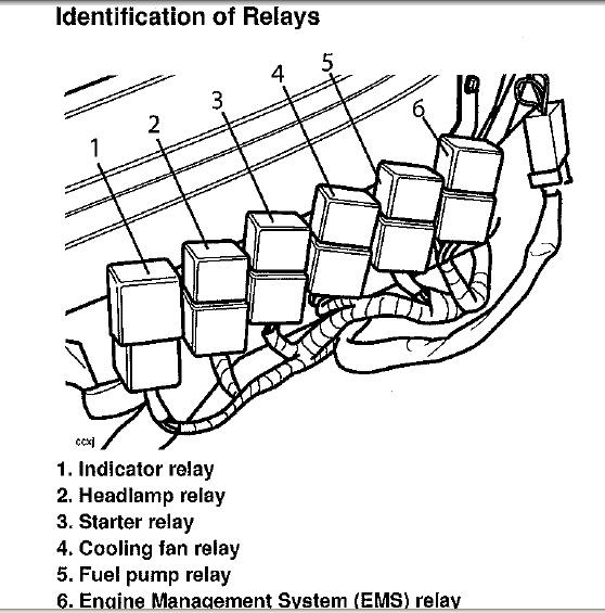 2 Form A Relay Diagram