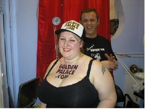 Golden casino tattoo bingo pattern slot machines