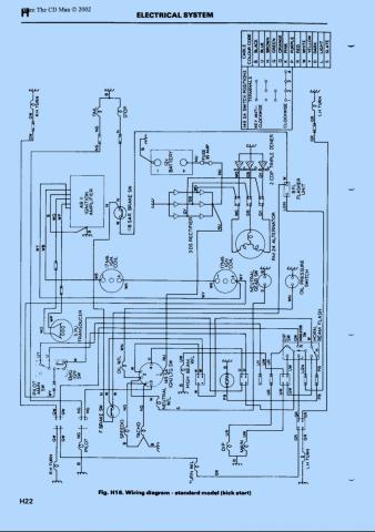 1979 T140 Wiring Diagram - Wiring Diagram