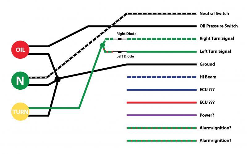 wiring diagram for switch to light wirdig efi bonneville nuetral light working opposite triumph forum triumph
