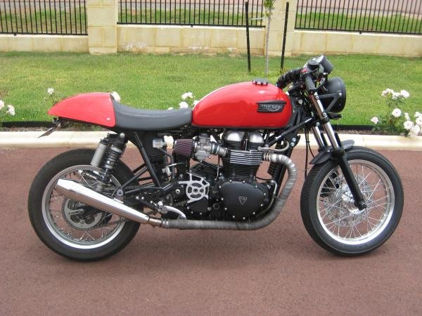 Showcase cover image for Lipscombe_am's 2009 Triumph Thruxton