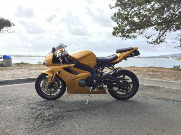 Showcase cover image for Swantombomboy's 2007 Triumph Daytona