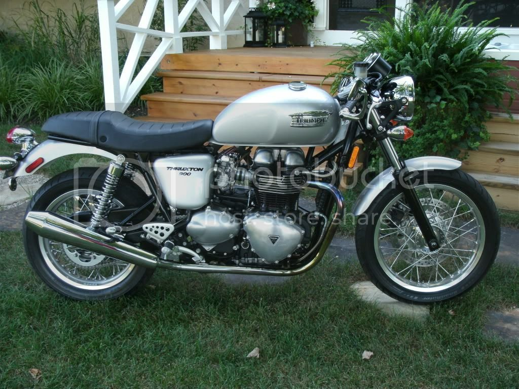 First Ride On My New Thruxton Triumph Rat Motorcycle Forums