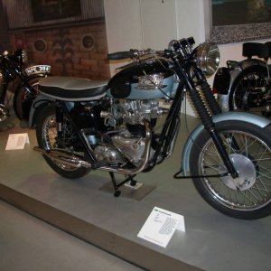 50´s Triumph in Germany