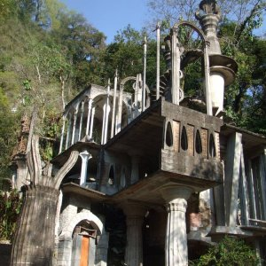 Las Pozas de Edward James, Mexico Trip 2/08