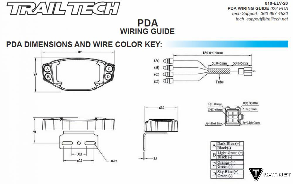 trailtech pda_wiring_guide trail tech wiring diagram cat5 wiring diagram ev wiring diagram at edmiracle.co