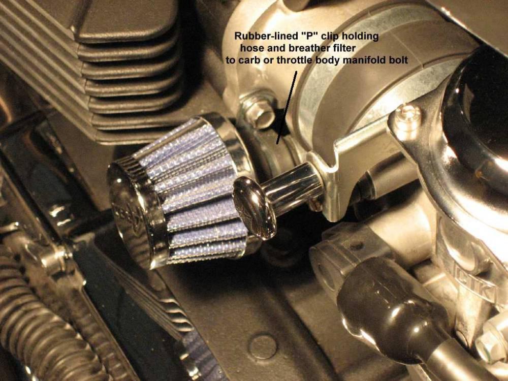 DIY Crankcase Breather/Oil Catch Can - Page 2 - Triumph Forum