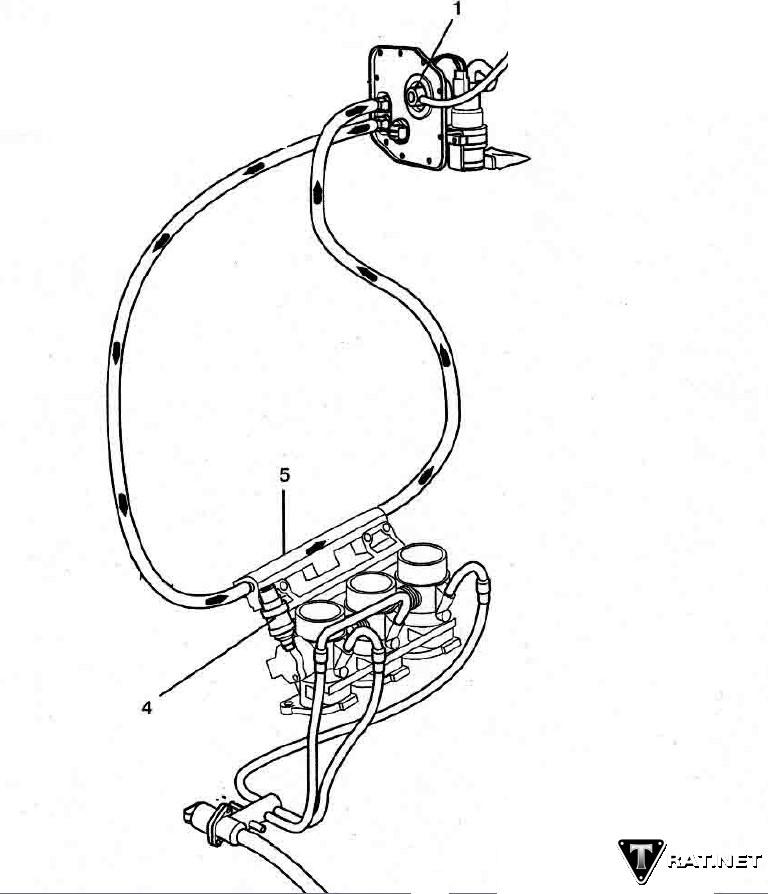 Fuel Line Diagram