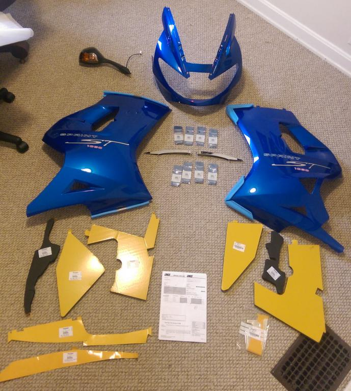 Sprint ST 1050 Fairings / Body Panels / Plastics - Part