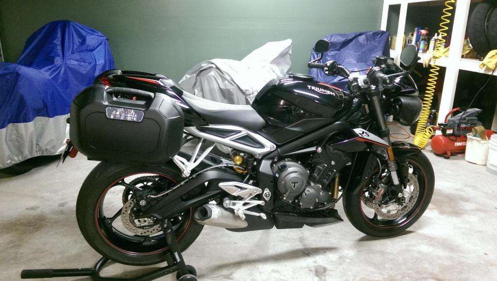 Luggage Options For Street Triple 765 Archive Triumph Forum